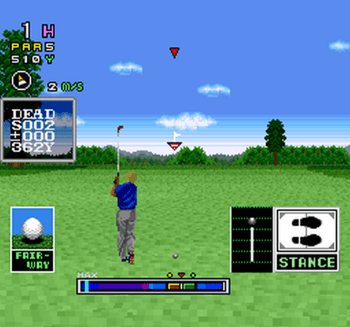 Mecarobot Golf (SNES) - 07