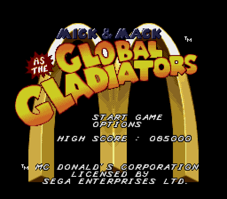 Mick and Mack Global Gladiators (Genesis) - 01