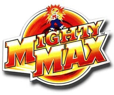 Mighty Max (redesigned logo)