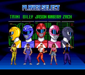Mighty Morphin Power Rangers (SNES) - 03