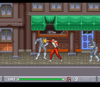 Mighty Morphin Power Rangers (SNES) - 04