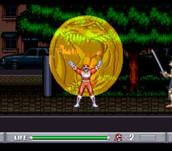 Mighty Morphin Power Rangers (SNES) - 07