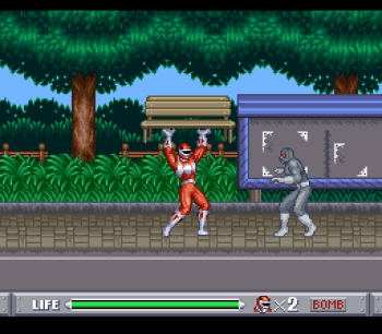 Mighty Morphin Power Rangers (SNES) - 11