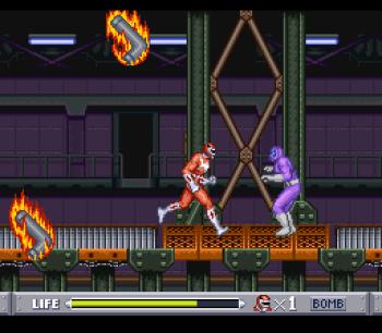 Mighty Morphin Power Rangers (SNES) - 24