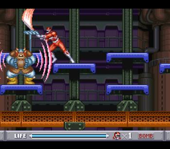 Mighty Morphin Power Rangers (SNES) - 26