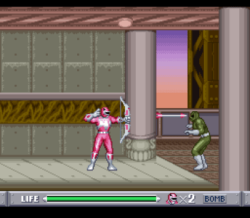 Mighty Morphin Power Rangers (SNES) - 45