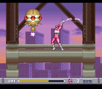 Mighty Morphin Power Rangers (SNES) - 49
