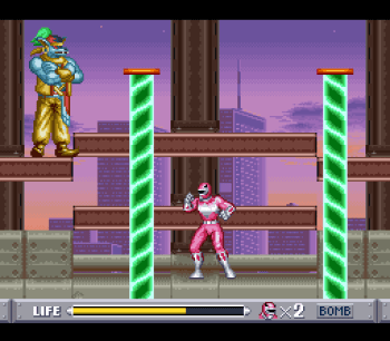 Mighty Morphin Power Rangers (SNES) - 50