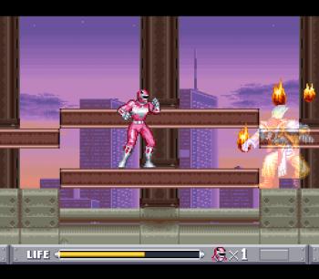 Mighty Morphin Power Rangers (SNES) - 53