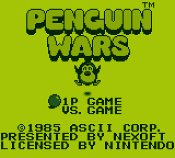 Penguin Wars Gameboy - 01