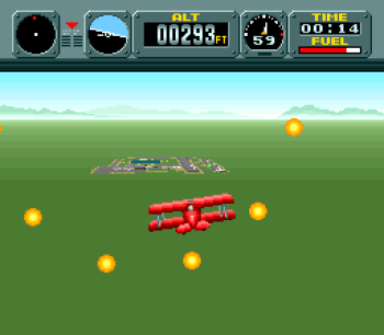 Pilotwings (SNES) - 18