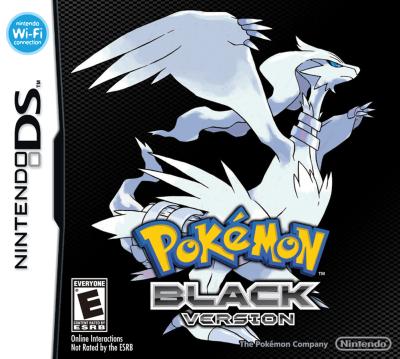 Pokemon Black Boxart