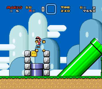 Super Mario World (SNES) - 008