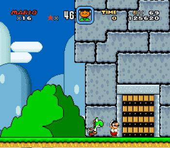 Super Mario World (SNES) - 018