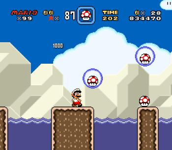 Super Mario World (SNES) - 100
