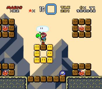 Super Mario World (SNES) - 114