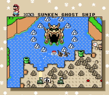 Super Mario World (SNES) - 130