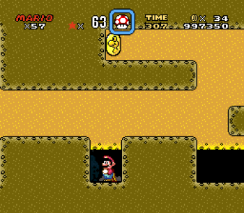 Super Mario World (SNES) - 135