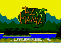 Taz-Mania (Genesis) - 02