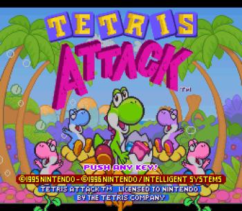 Tetris Attack SNES - 01