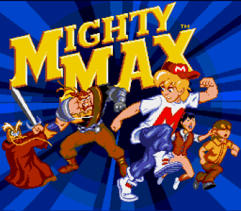 The Adventures of Mighty Max (Genesis) - 01