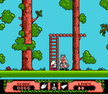 The Fantastic Adventures of Dizzy (NES) - 18