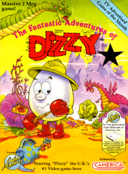 The Fantastic Adventures of Dizzy (NES) - Front Cover