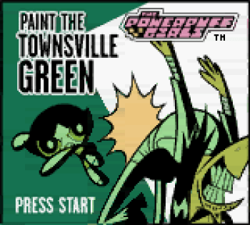 The Powerpuff Girls - Paint the Townsville Green (Gameboy Color) - 01