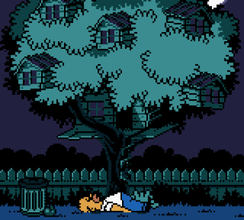 The Simpsons - Night of the Living Treehouse of Horror (Gameboy Color) - 77