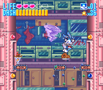 Tiny Toon Adventures - Buster Busts Loose! (SNES) - 13