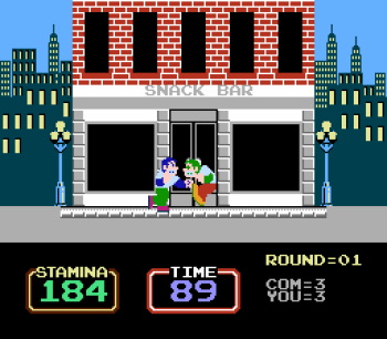 Urban Champion (NES) - 02