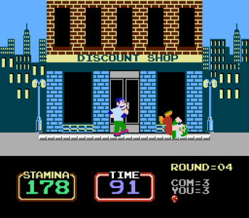 Urban Champion (NES) - 03