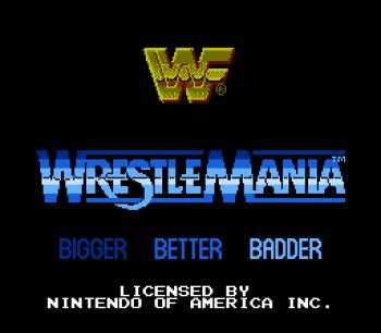 WWF WrestleMania (NES) - 01