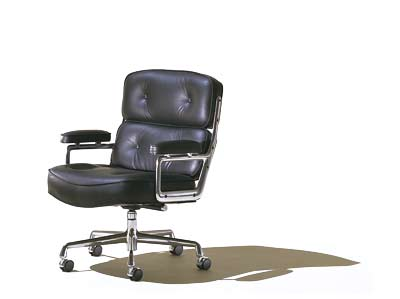 Eames Executive Chair made famous by Bobby Fisher / Time-Life Building