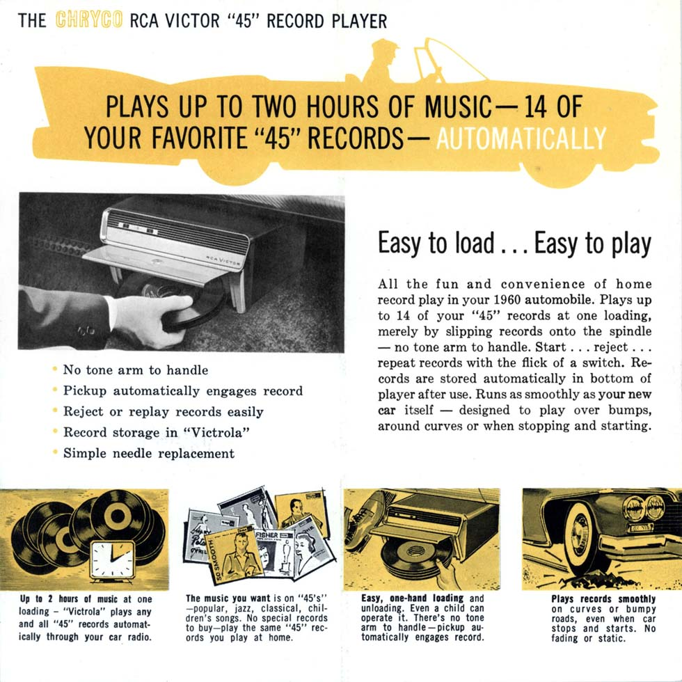 automobile record player advertisement dead rodz revival