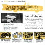 Automobile record player advertisement