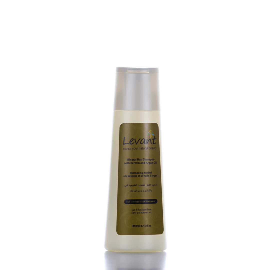 Mineral Hair Shampoo With Keratin & Argan Oil