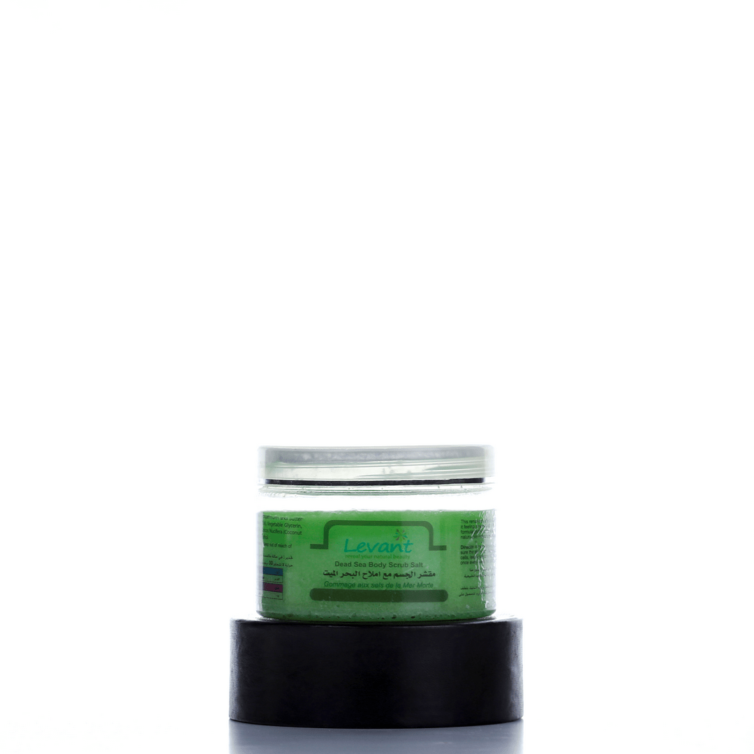 Dead Sea Salts Body Scrub – Green Apple