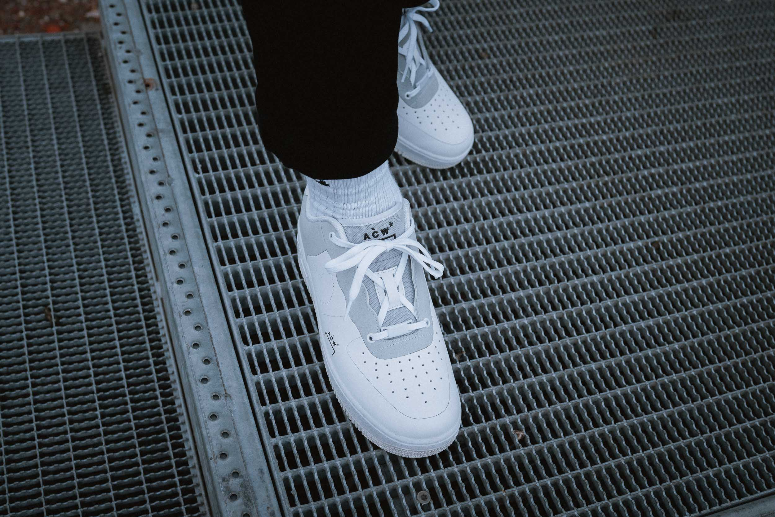 Nike X A Cold Wall Air Force 1 On Feet Dead Stock