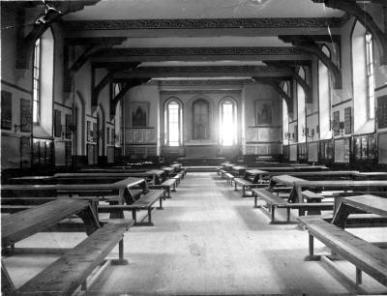 The old communal classroom