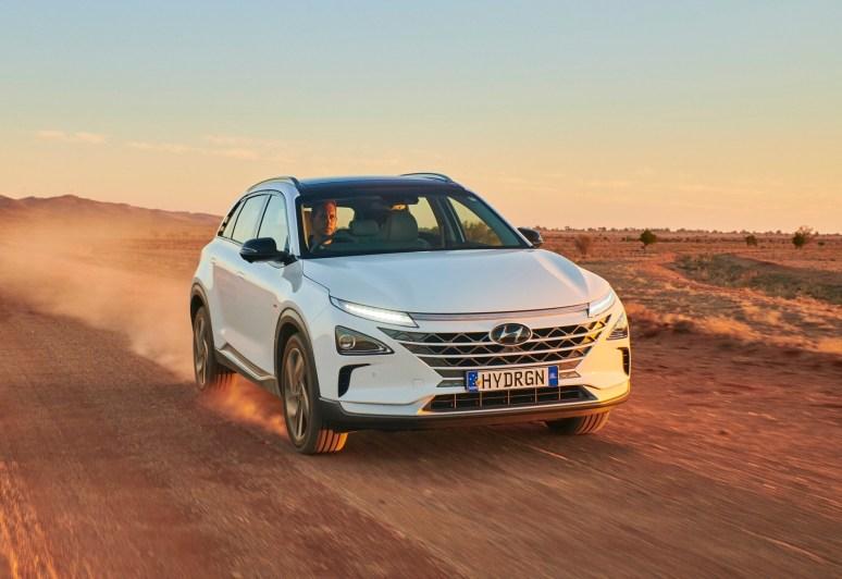 El Hyundai Nexo se vende en mercados selectos desde 2018