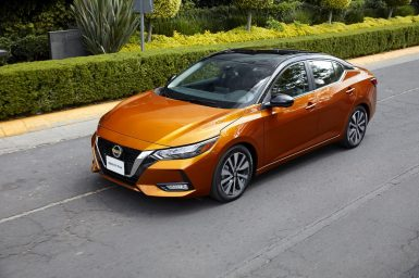 Nissan anuncia la llegada del nuevo Sentra a América Latina, vehículo clave dentro de la gama de productos de Nissan.