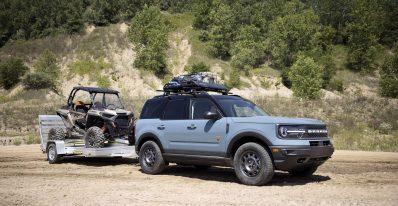 Bronco Sport Tow RZR