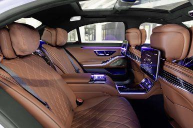 Mercedes Benz Clase S interior