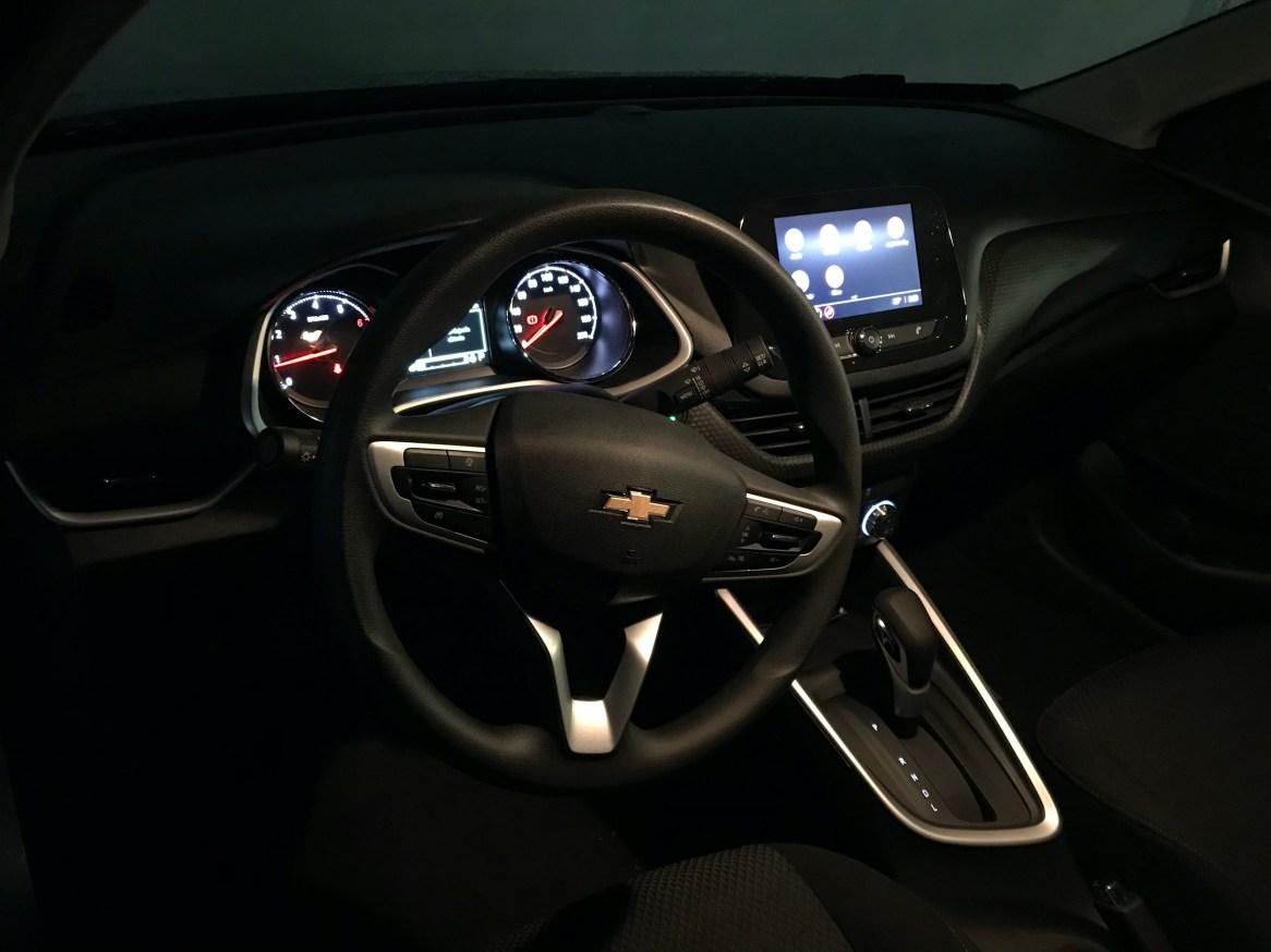 Interior del Chevrolet Onix LT