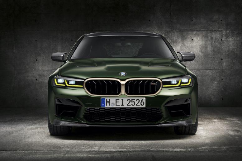 BMW M5 CS 2022: Así es el M más potente de la historia