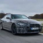 BMW i4: Adelanto del futuro sedán eléctrico alemán
