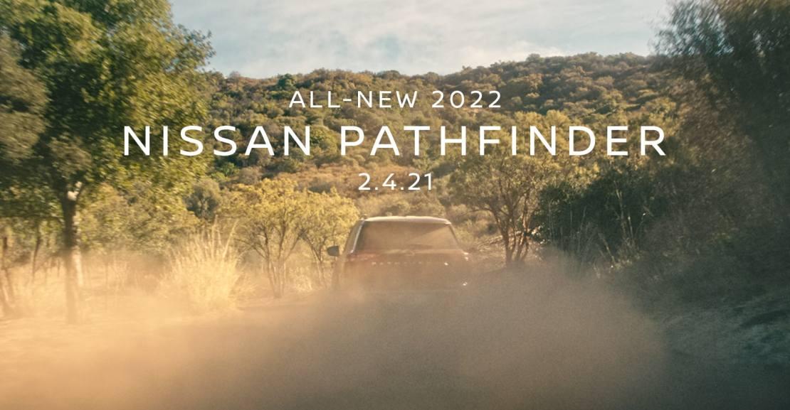 Nissan Pathdinder 2022 teaser