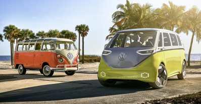 VW ID.Buzz, el concepto en el que se basará el futuro micro bus eléctrico