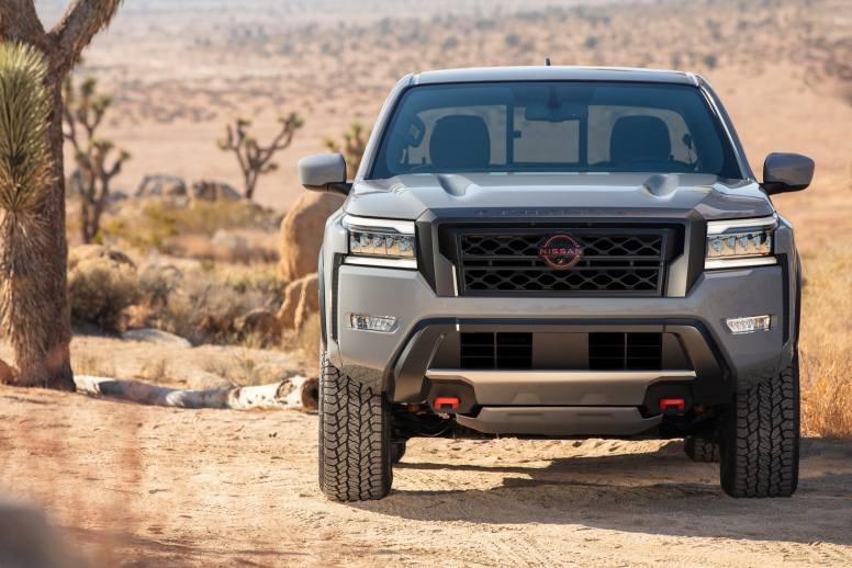 Nissan Frontier 2022: exterior